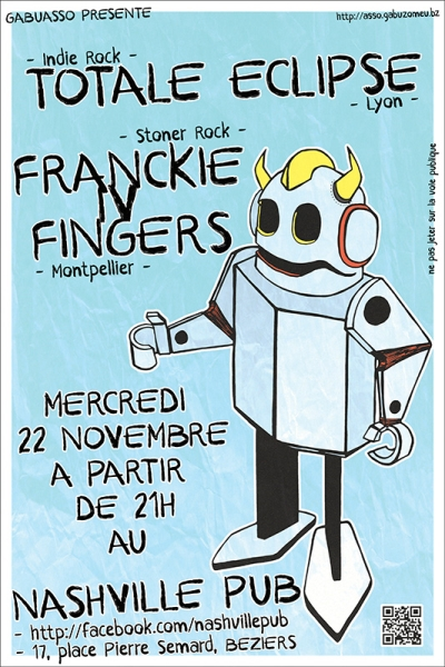 Totale Eclipse - Franckie IV Fingers