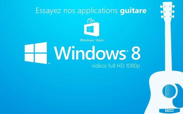 Apprendre la Guitare et les Solos Shred - Windows 8