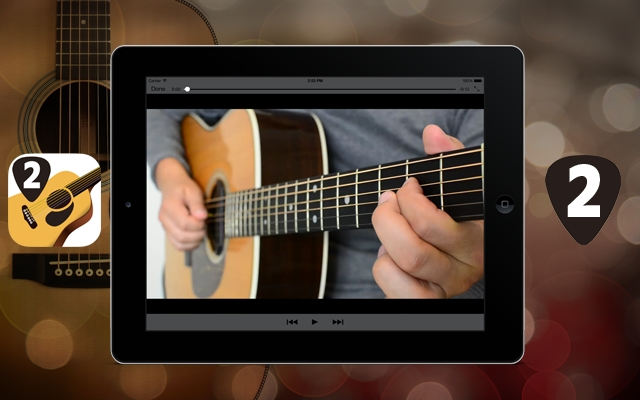 Nouvelle application : Méthode de Guitare #2 - Les accords barrés